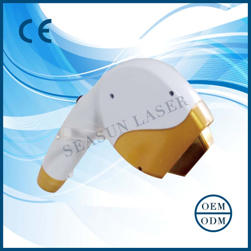 CE FDA qualtity approveddiode laser spare parts / CO2 fractional IPL diode laser hair removal machine hand piece