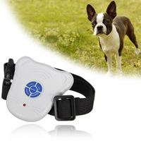 New Arrival Hot Sale Safe Ultrasonic Dog Pet Stop Barking Anti Bark Training Trainer Control Collar