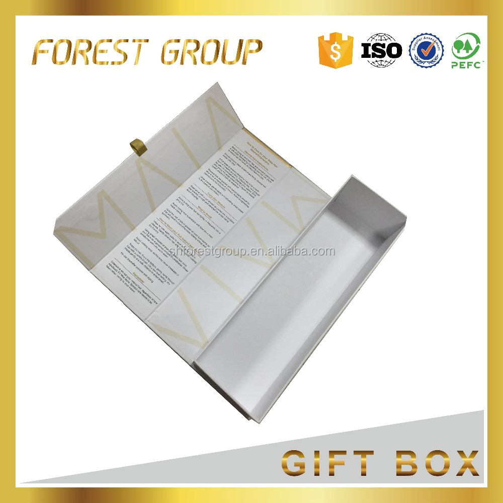 Small folding paper umbrella gift box