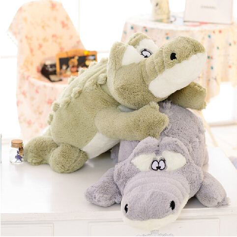 One Piece 60cm Softly Crocodile Plush Toys Stuffed Animal Dolls Baby Toys Childs Gift Free Shipping