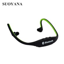 New design Stereo Sport 4.1 Bluetooth Earphone necklace In Ear Headset Headphones