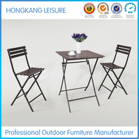 A022 Hot Sell Wood Plastic Composite Outdoor Furniture