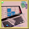 factory price clear laptop keyboard silicon skin cover