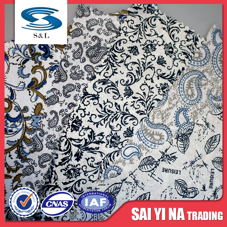 Printed Pattern and 100% Polyester Material polyester printed fabric