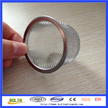 Stainless steel wire mesh filter cap/filter strainer cone/filter basket
