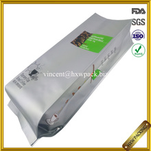 food grade side gusset large aluminum foil bags for coffee packing