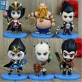 custom make mini small mobile game pvc figure, 3inch make your own pc game pvc figures for promotion