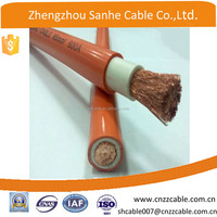 4/0AWG , 2/0 AWG,1/0AWG rubber insulated welding electrical cable