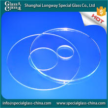 Safety and sanitary fiber 3mm clear tempered glass roofing sheet