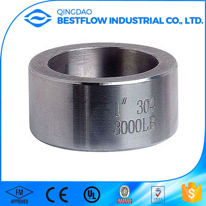Advanced production equipment all size available 3000lb carbon steel npt thread pipe fitting