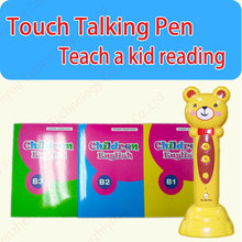 5 Translations (English, Arabic, Chinese, French and Korean) Children Reading Pen TP1-1, OEM Solution