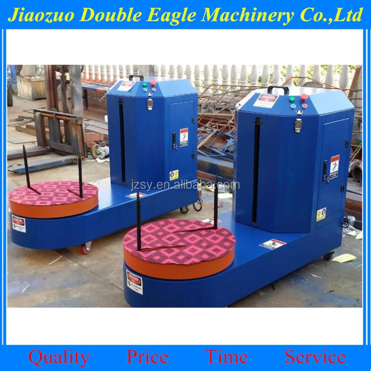 plastic film luggag wrapper wrapping machine