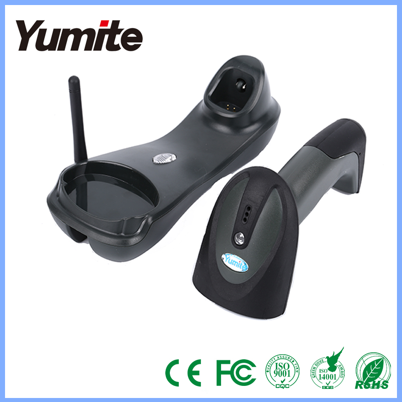 Wireless 300 - 400m laser barcode scanner long distance