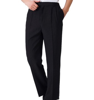wholesale custom lastest hotel waitress uniform design suit pants