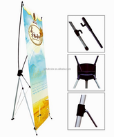 Advertising Portable Exhibition Stand X Banner Stand