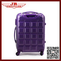 abs suitcase/travel trolley luggage bag/chocolate luggage