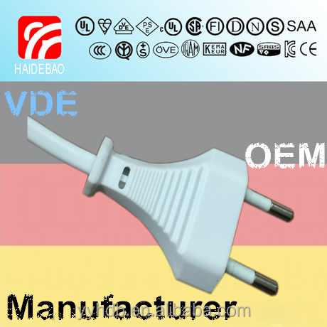 Germany VDE 2.5A 250V <strong>power</strong> <strong>cord</strong>