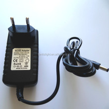 factory direct sales plastic housing 6W-60W non-waterproof power supply
