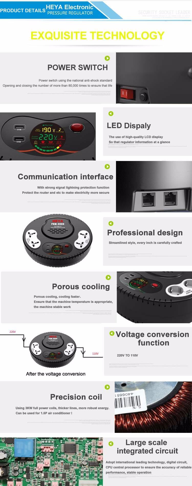 110v 220v Output Ac Voltage Regulator For Refrigerator Air