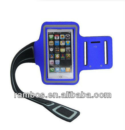 Running Armband Smart Phone Holder Arm Band Case for iPhone 4 4s