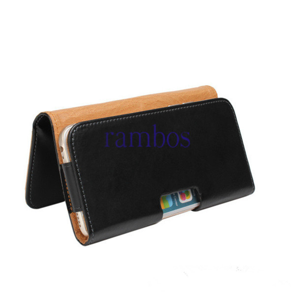 New Arrival Capa Para Leather Belt Clip Case Cover Holster Pouch for Samsung Galaxy S6 Edge
