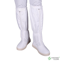 Autoclavable PVC Sole Cleanroom Antistatic ESD Safety Shoes Boots