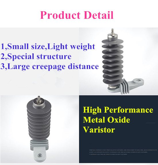 AISO Electrie Provide Better Price 10kV Lightning Surge Arrester /Lighting Arrester