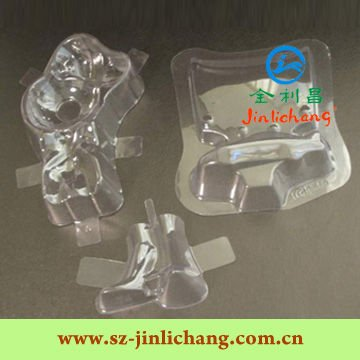 Customized carded blister packaging for adhesive hooks