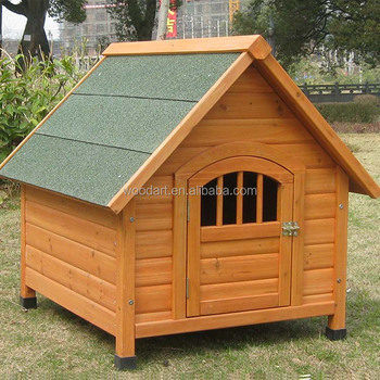 High Quality classic Wooden Dog Kennel, Custom indoor dog houses