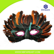 Fashion new design pretty feather masquerade eye party mask