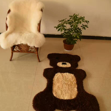 Baby Rugs faux Australian Sheepskin Chinese Carved Wool Rugs