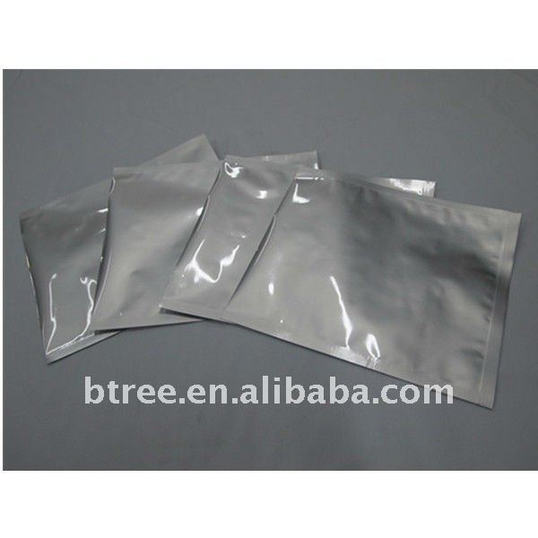 Aluminum bag with Perfect Moisture barrier