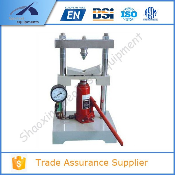 PLT-1 Dial gauge type Point Load Tester
