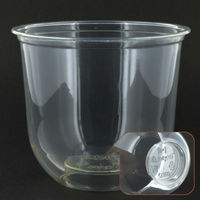 Q360-T PP 12oz 360ml disposable - custom plastic cups