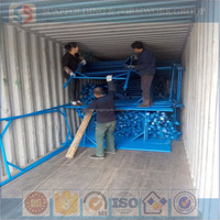 42/25mm steel falsework A frame Scaffolding support