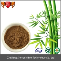 Natural Plant Extract Bamboo Leaves Flavone Powder for Cosmetic Ingredient