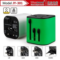Corporate/premium gifts travel adapter with UK/US/EU/AUS plug