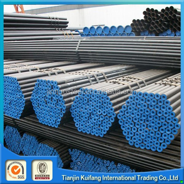 ansi b36.10 astm a106 b black seamless steel pipe