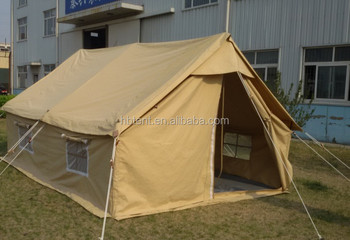 Heavy Duty Double Roofs Canvas Scout Tent Canvas Family Tent Outdoor C&ing Tent : canvas scout tent - memphite.com