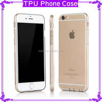 Phone Case for iPhone 6 6S Plus Ultra-Thin Design TPU Soft Mobile Protector With Dust Plug