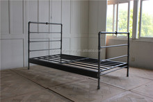 metal industrial bedroom home bed design furniture