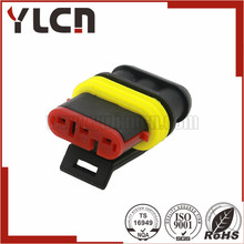 YULIAN Manufacturer Free samples automotive connector male plug waterproof delphi 3 way black connector
