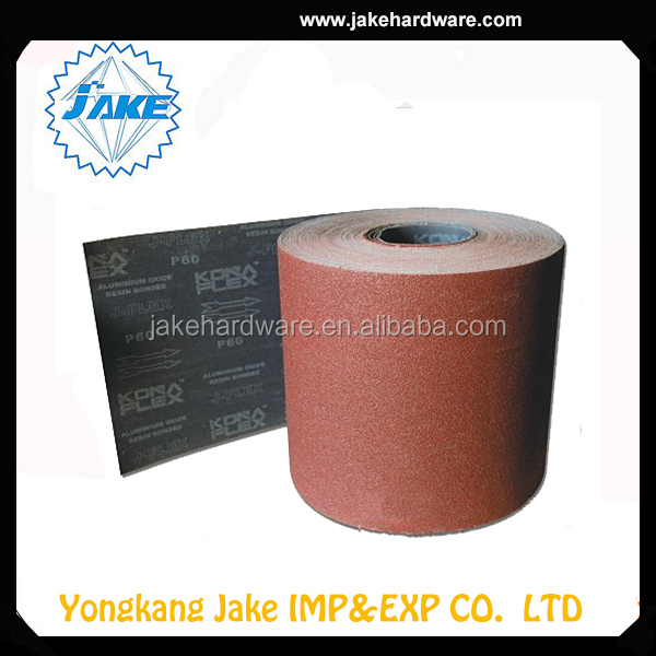 2015 Wholesale Cheap Price english abrasives sand paper roll