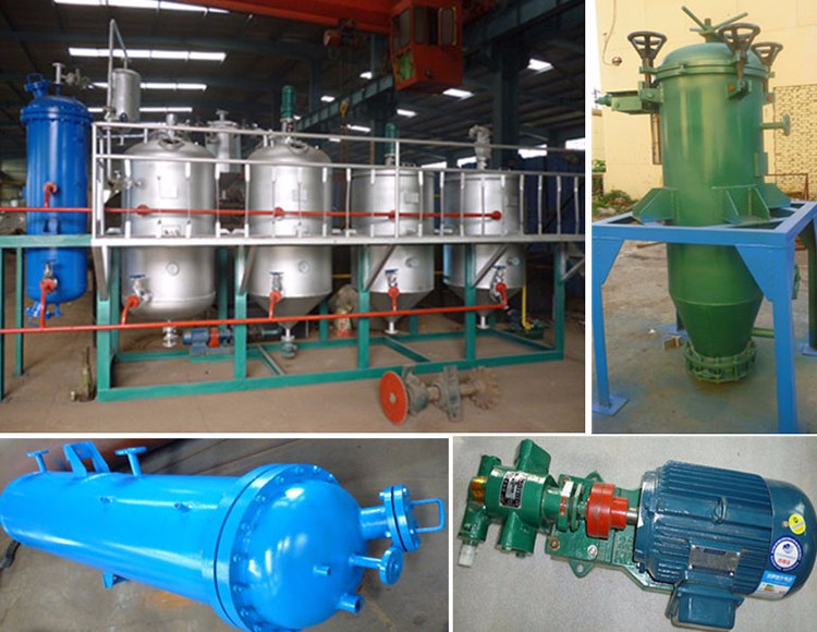 Latest Technology Waste Oil Refining Plant
