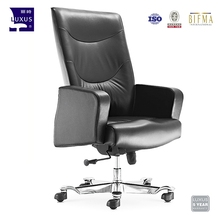 Nice price PU leather executive luxury office boss revolving chair