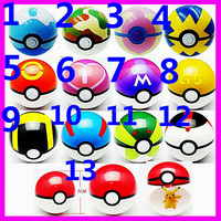 2016 Wholesale Cheao Factory Price Top Quality Pokemon Pokeball, Poke Ball Pop-up Master Pikachu Cosplay Pocket Monster Go New