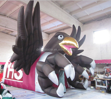 inflatable eagle animal entrance tunnel