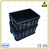 ESD/Conductive Circulation plastic Box/conductive box esd plastic box