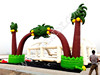 Decoration inflatable palm tree arch, Palm tree inflatables for advertising