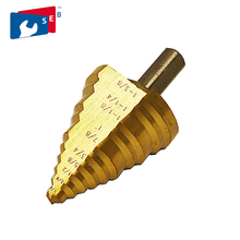 Step Drill Bit Of Power Tools To Metal Drill